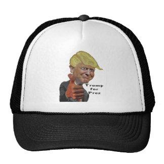 Donald Trump funny humorous product Trump for Prez Trucker Hat