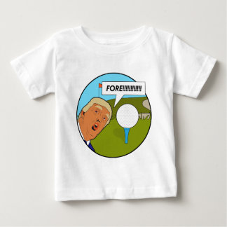 Donald Trump Golf Baby T-Shirt
