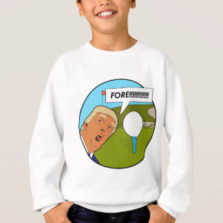 Donald Trump Golf Sweatshirt