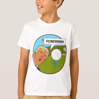 Donald Trump Golf T-Shirt