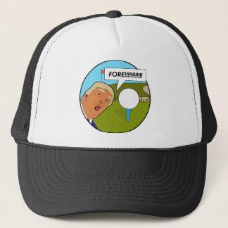 Donald Trump Golf Trucker Hat