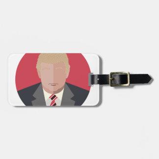 Donald Trump Graphic Representation Luggage Tag