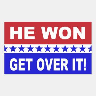 Donald Trump He Won Get Over It