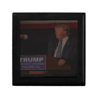 Donald Trump Image Made of Dollar Signs Gift Box