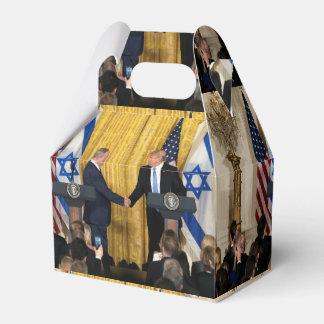 Donald Trump In Israel With Bibi Netanyahu Favor Box