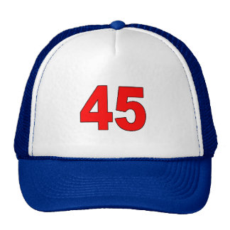 "Donald Trump is ""America's 45th President"" Trucker Hat"