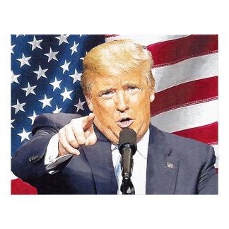 Donald Trump Letterhead