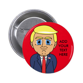 Donald Trump Looking Smug 2 Inch Round Button