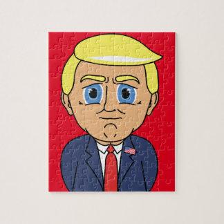 Donald Trump Looking Smug Jigsaw Puzzle