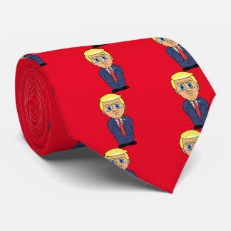 Donald Trump Looking Smug Tie
