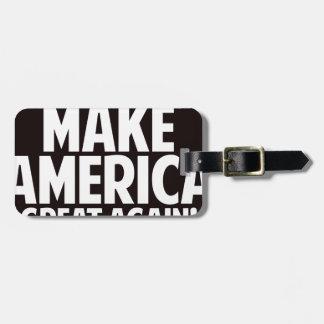 Donald Trump Luggage Tag