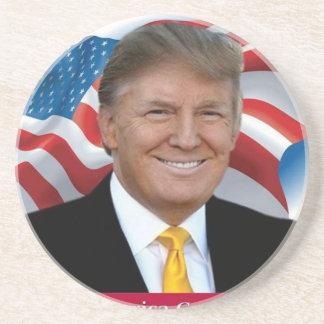 Donald Trump Make America Great Again Beverage Coasters