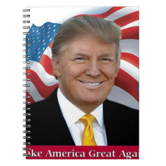 Donald Trump Make America Great Again Notebook