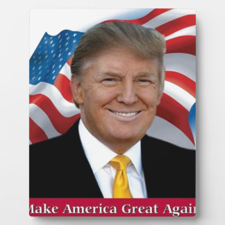 Donald Trump Make America Great Again Plaque