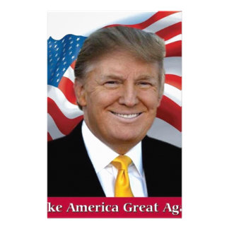 Donald Trump Make America Great Again Stationery