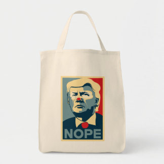 "Donald Trump ""NOPE"" grocery tote!"