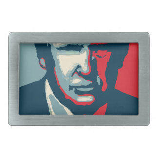donald trump nope rectangular belt buckles