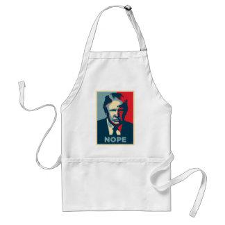 donald trump nope standard apron