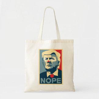 """Donald Trump """"NOPE"""" tote"""