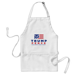 Donald Trump Pence 2016 Election Campaign Standard Apron