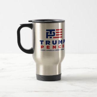 Donald Trump Pence 2016 Election Campaign Travel Mug