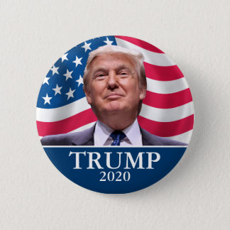 Donald Trump Photo - President 2020 - enough said 2 Inch Round Button