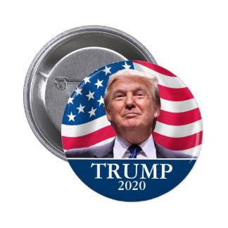 Donald Trump Photo - President 2020 - enough said 2 Inch Round Button