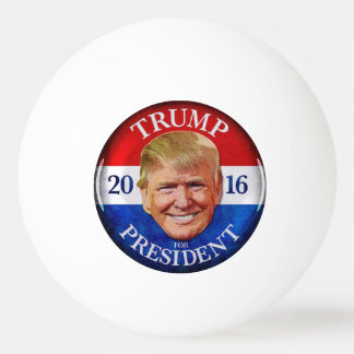 DONALD TRUMP PING PONG BALL