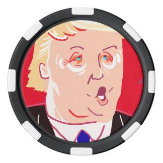 Donald Trump Poker Chips