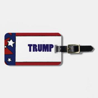 Donald Trump Political Designs Luggage Tag