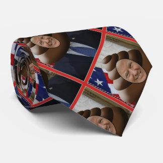 Donald Trump Poop Emoji Pattern Tie