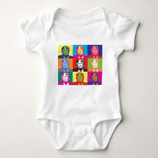 Donald Trump Pop Art Baby Bodysuit