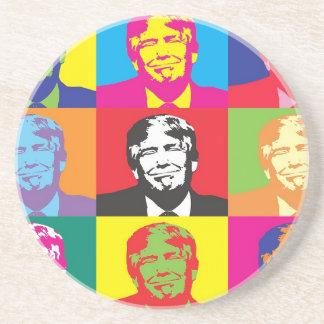 Donald Trump Pop Art Coaster