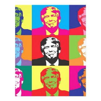 Donald Trump Pop Art Letterhead