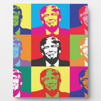 Donald Trump Pop Art Plaque