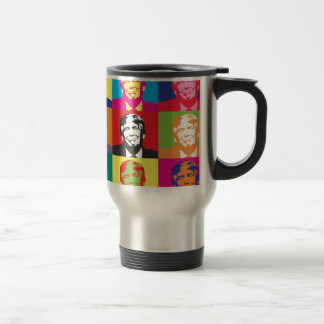 Donald Trump Pop Art Travel Mug