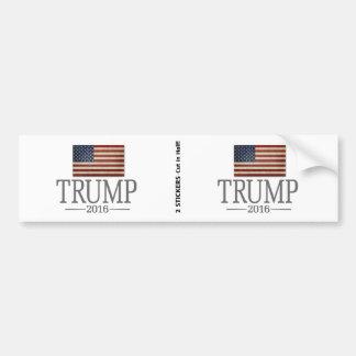 Donald Trump - président 2016 Autocollant De Voiture