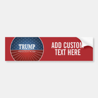 Donald Trump - President 2016 Bumper Sticker
