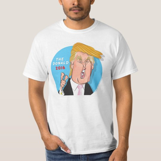 Donald Trump President 2016 Cartoon Tshirt