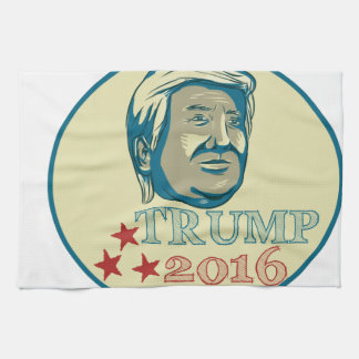 Donald Trump President 2016 Oval Hand Towels