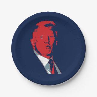 Donald Trump President Paper Plate