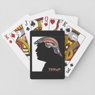 Donald Trump Psychedelic Combover Cards