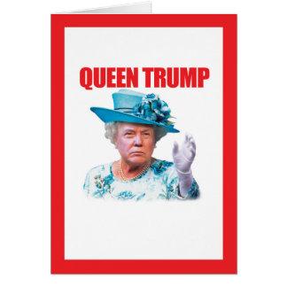 Donald Trump Queen Trump Card