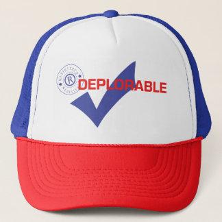 Donald Trump Registered Deplorable Trucker Hat