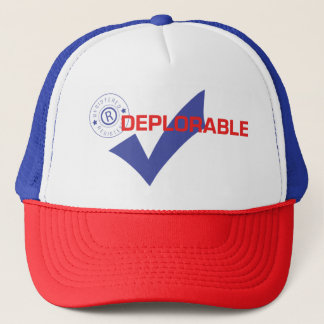 Donald Trump Registered Deplorable Truker Hat