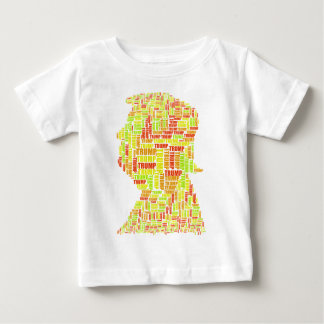Donald Trump Silhouette Name Baby T-Shirt
