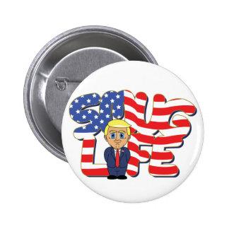 Donald Trump Smug Life 2 Inch Round Button