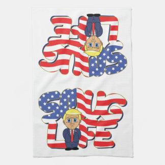 Donald Trump Smug Life Kitchen Towel