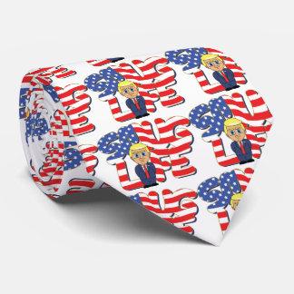 Donald Trump Smug Life Tie