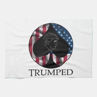 Donald Trump Spade Trumped Kitchen Towel